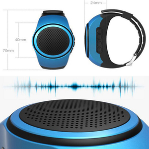 Image 3 - B20 smart watch z samowyzwalaczem Anti Lost Alarm muzyka Sport Mini głośnik wzmacniacz Bluetooth karty TF Radio FM ręce  bezpłatny przenośny