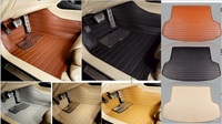 Cars Waterproof XPE Material Non Slip Full Surrounded Car Floor Mats Trunk Mats For Explorers