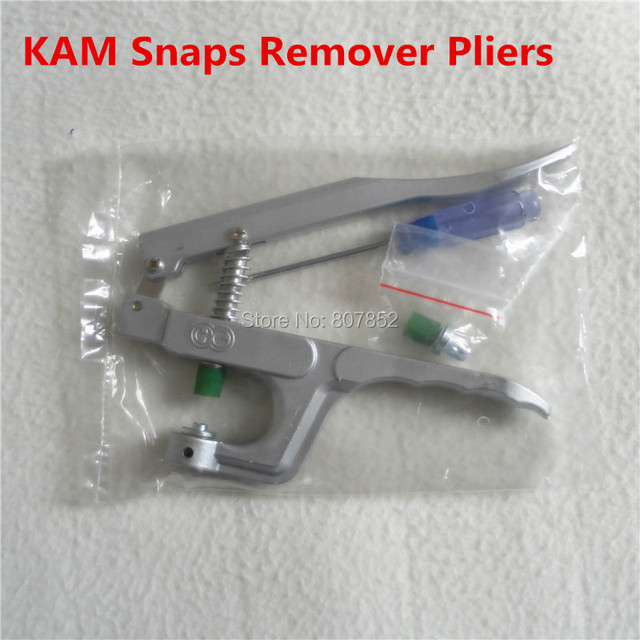 US $125 98 16% OFF|10PCS KAM Brand Plastic Snaps Buttons Remover Pliers  Tools Kit to remove T5 Size 20 snaps from Fabric faster DK 003-in Jewelry