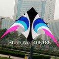 O Envio gratuito de Diversão Ao Ar Livre Ostenta O Novo 2.8 m Poder Kite Guarda-chuva De Pano de Olho No Céu Voando
