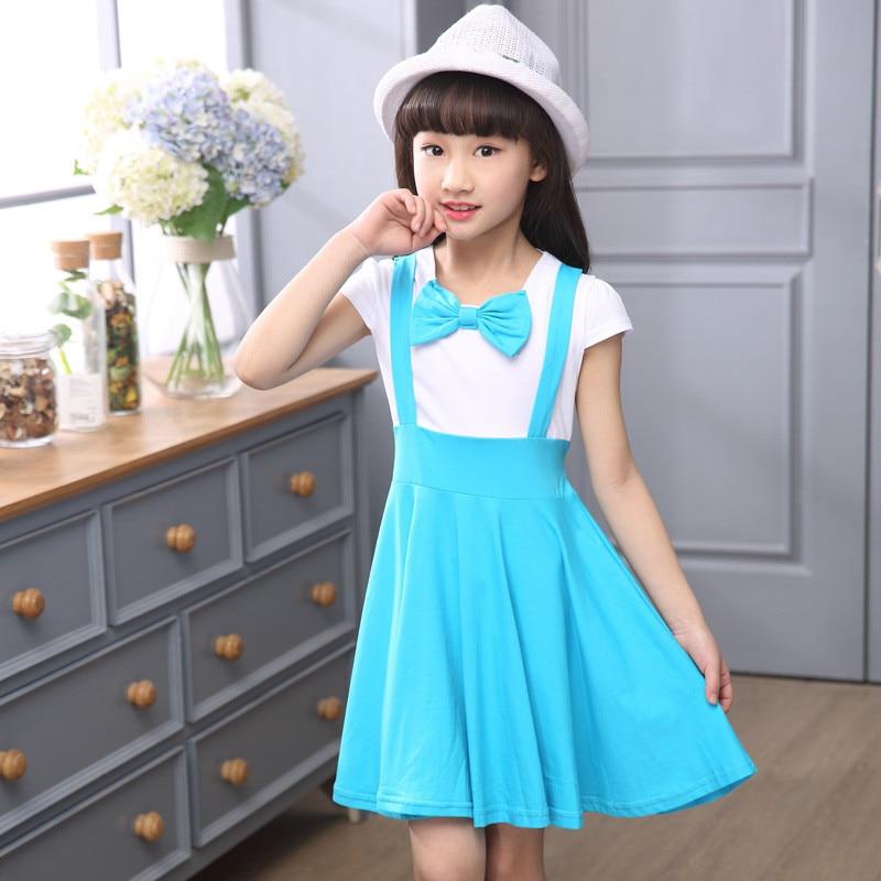 ②2017 new summer baby girl\'s dresses princess dresses cute bow ...