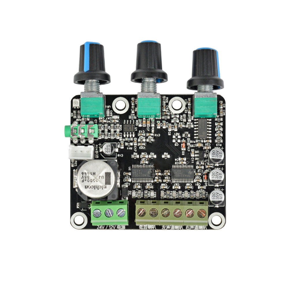 Aiyima 21 Ch Tpa3110d2 Subwoofer Amplifier Board 152 30w Sub Audio Lowpass Filter Frequency Circuit Ne5532 Opamp Chip Stereo Amp For High End Computer Speaker Dc 12v 24v In From Consumer