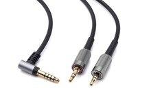 4.4mm 업그레이드 소니 MDR Z7 z7m2 MDR Z1R 헤드폰 용 밸런스드 오디오 케이블 6ft black