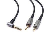 4.4mm Upgrade BALANCED Audio Cable For SONY MDR Z7 Z7M2 MDR Z1R HEADPHONES 6FT Black