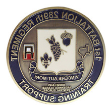 New enamel metal promotional carving coins