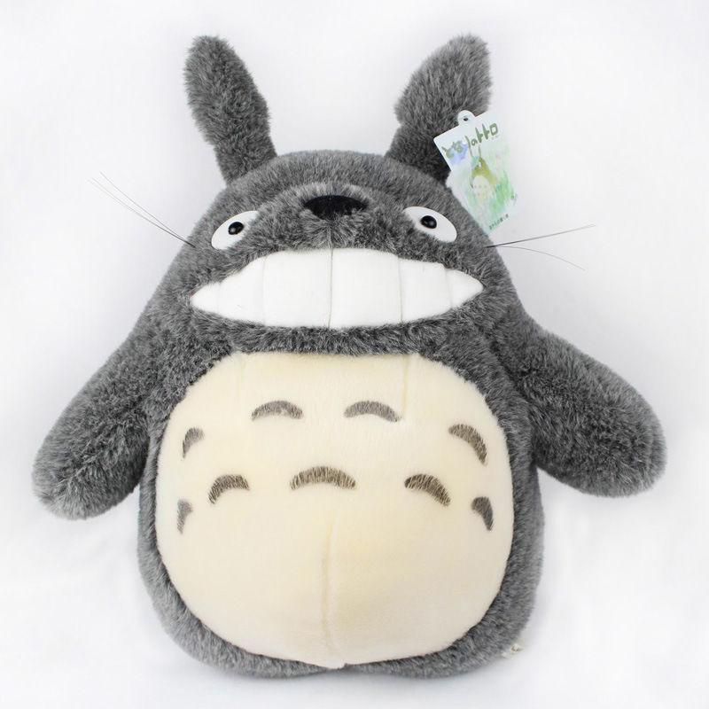 Studio Ghibli 11 Grin Totoro Plush Doll Toy New My Neighbor Totoro