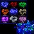 Многоцветный Свет Шнура СИД 10 м 20 м 30 м 50 м 100 м Украшения свет на Рождество Партии Свадьба С 8 Режимами Отображения полосы свет