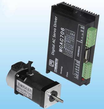 64W 24VDC 0.2N.m NEMA17 Brushless DC servo motor driver kit 1000 line 3000rpm JMC 42JSF630AS+MCAC706 - Category 🛒 All Category