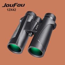 Sale JouFou 12X42 Hunting Cavalry Series HD Binoculars Telescope Long Rang Zoom Professional Nirogen Waterproof Telescopes