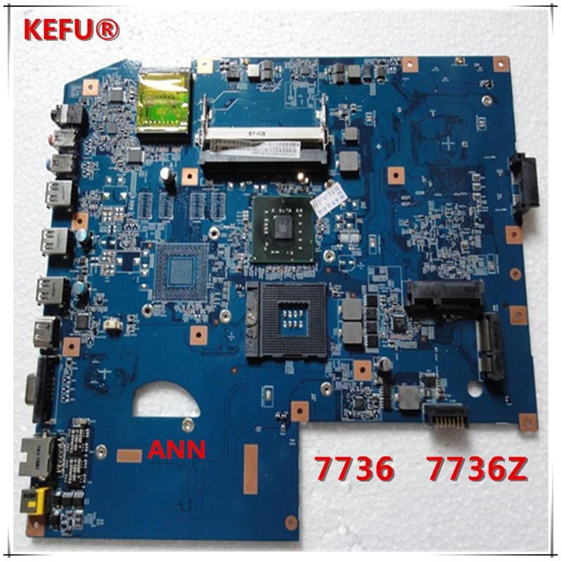 KEFU MBPJB01001 MB PJB01 001 For Acer 7736 7736z Laptop Motherboard 48 4FX01 01M DDR2