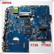 KEFU MBPJB01001 MB. PJB01.001 لأجهزة الكمبيوتر المحمول Acer 7736 7736z اللوحة 48.4FX01.01M DDR2