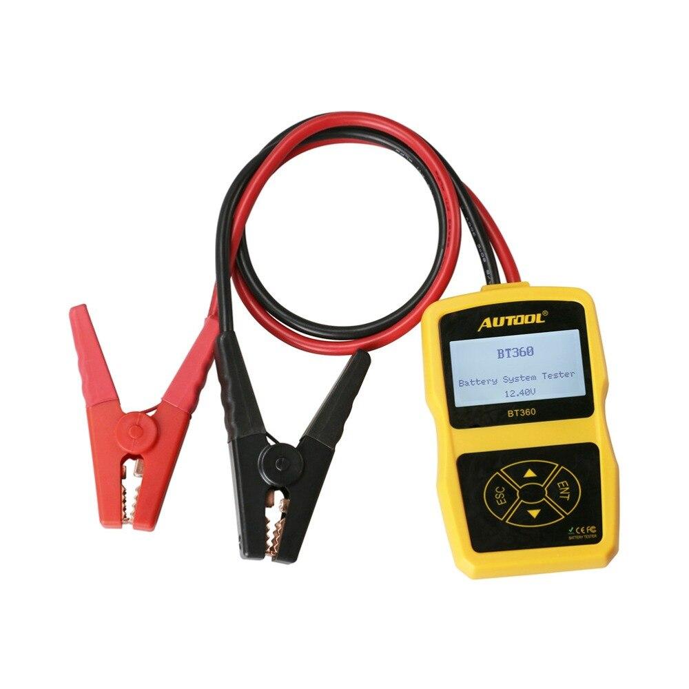 Image 4 - Оригинальный Autool BT360 авто Батарея тесты er 12 В в автомобильный батарея анализатор 2000CCA 220AH Multi language BAD Cell тесты автомобиля инструменты-in Тестеры аккумуляторов from Автомобили и мотоциклы