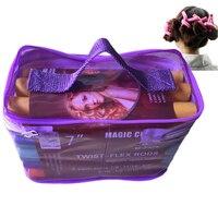 À Mode bendy rouleaux flexi tiges 42 pcs/ensemble 7 Styles DIY cheveux curling tiges Magic Hair Rouleau Souple flex tiges pour cheveux