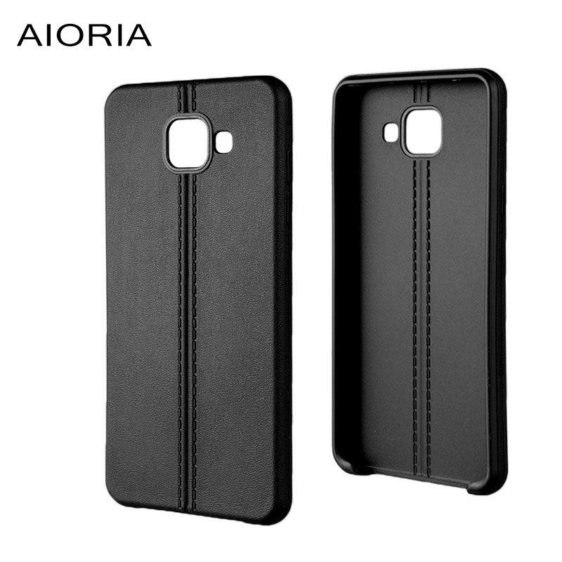 AIORIA Mjukt fodral för Samsung Galaxy A5 2016 Dubbel linje design - Reservdelar och tillbehör för mobiltelefoner - Foto 4