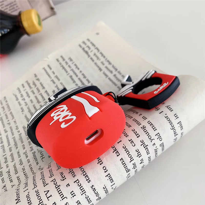 漫画かわいいワイヤレス Bluetooth イヤホン Apple AirPods2 シリコーン充電 Airpods ためヘッドフォンケース保護カバー