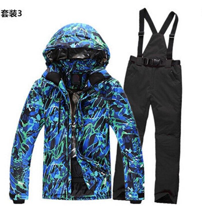 Free shipping Winter Warm men Outdoor Climbing clothes sports coat Winter waterproof men's skiing jacket