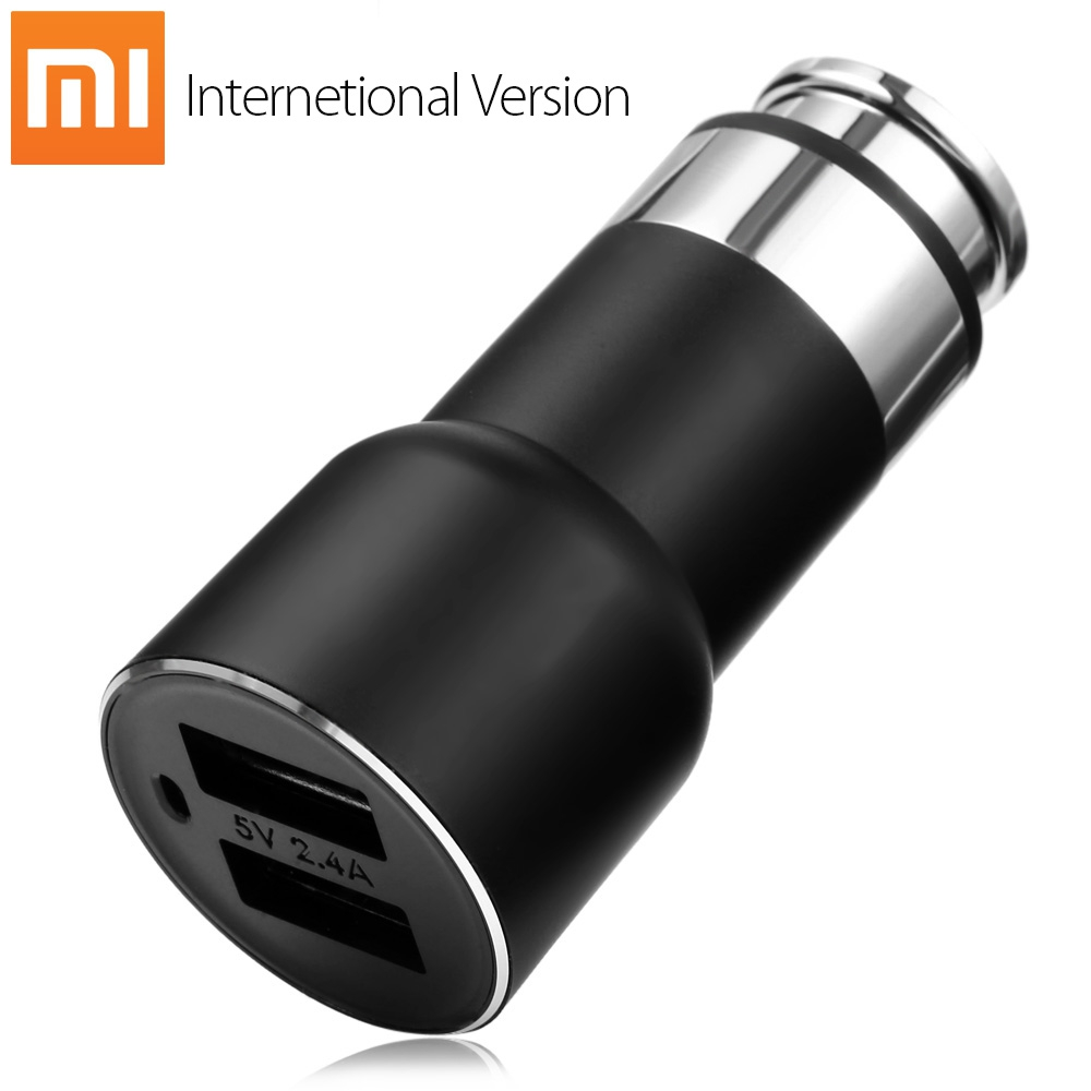 Original Xiaomi Roidmi 2S Bluetooth V4.2 Car Charger Hands-free Call FM Transmitter 5V 2.4A Output APP Real-time Monitor