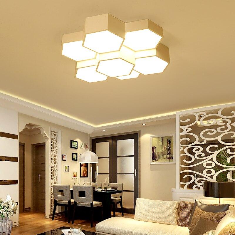 Moderne einfache wohnzimmer deckenleuchte led schlafzimmer lampe ...