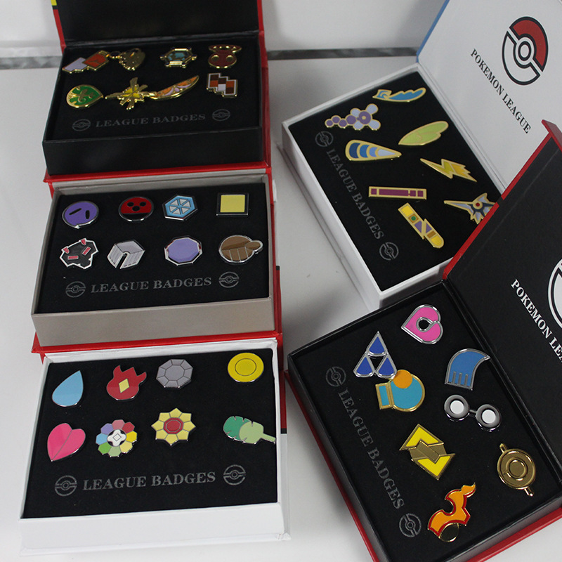 Pokemon Exquisite Souvenir Metal Pin Emblem Badge High Quality pokemon Go Games Kids Clothing Decoration badges ...