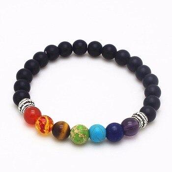 Bracelet 7 chakras pour homme
