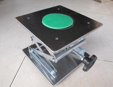 200x200X280mm Stainless Steel Lab Jack Lifting Platform Laboratory Equipment lab jack laboratory support jacks 200x200x280mm stainess steel painting lifting table raising platform 8 inch export to europe