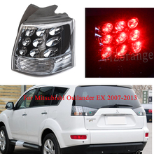 Rear Tail light for Mitsubishi Outlander EX 07-13 8330A396 Outer Right Left With Bulb Brake Light Rear Bumper Light Tail Stop rear outer brake light tail light lamp left lh for mitsubishi outlander ex 07 13 8330a395