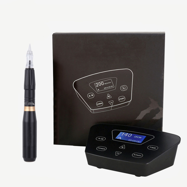 BIOMASER HP100P300 Permanent Makeup Rotary Machine Eyebrow Tattoo Kits Professional Pen For Eyebrow Eyeliner Lip Tattoo