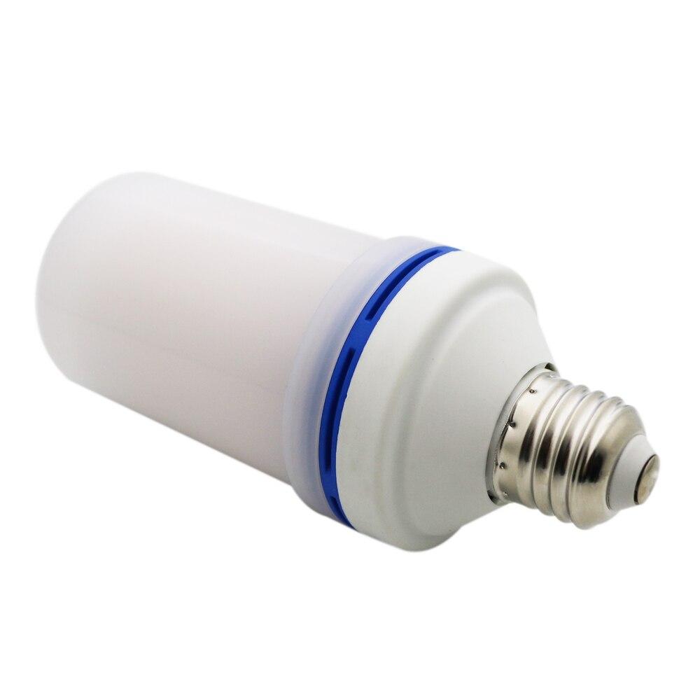 20x2017 novo e27 e26 2835smd conduziu a lâmpada efeito de chama lâmpadas de fogo 10 w luzes de chama de emulação de cintilação 1900 k 2200 k AC85 265V - 6