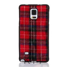 Hot Red Plaid Tartan Modelli Morbida Gomma Casse Del Telefono Mobile for iphone 4S 5S 5C SE 6S 7 PLUS IPOD Samsung IPOD HTC SONY