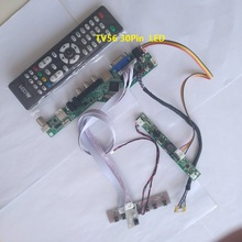 kit for LM240WU8-SLD2 VGA HDMI USB LCD TV AV Panel monitor 30pin 1920X1200 Controller board 24″ DIY CVBS LED LVDS