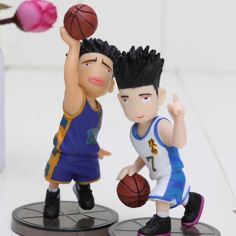 1 conjunto 5 pçs/set Anime japonês animação afundanço PVC forma meninos boneca modelo presentes venda quente