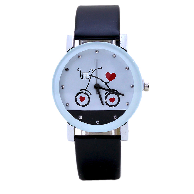 New Fashion Love Bike Couple Watches Suitable For Luxury Women Dress & Casual Sp