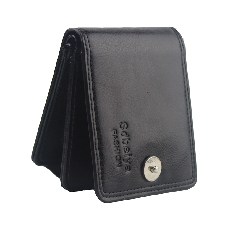 New 2016 Short Wallets PU Leather Brand Men Wallets Dollar Price Wallet Men Card Holder Coin Purse Pockets With Zipper dollar price women cute cat small wallet zipper wallet brand designed pu leather women coin purse female wallet card holder