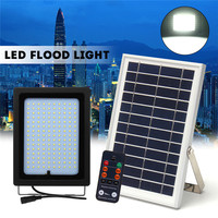 30W 150LED Solar Light Floodlight Solar Power Flood LED with Remote Controller Outdoor Garden Path Lamp