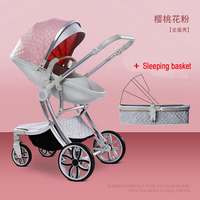 7.8 Strollers Can Sit And Fold Light And High Landscape Two way Newborn 0 6 Months Baby 3 Years Old Stroller