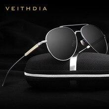 VEITHDIA Fashion Brand Unisex Designer Aluminum Men Sun Glasses polarized Mirror Male Eyewear Sunglasses For Wommen Men 6696