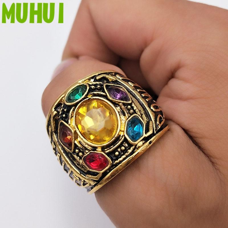2018 Movie Avengers Thanos Infinity Gauntlet Power Ring