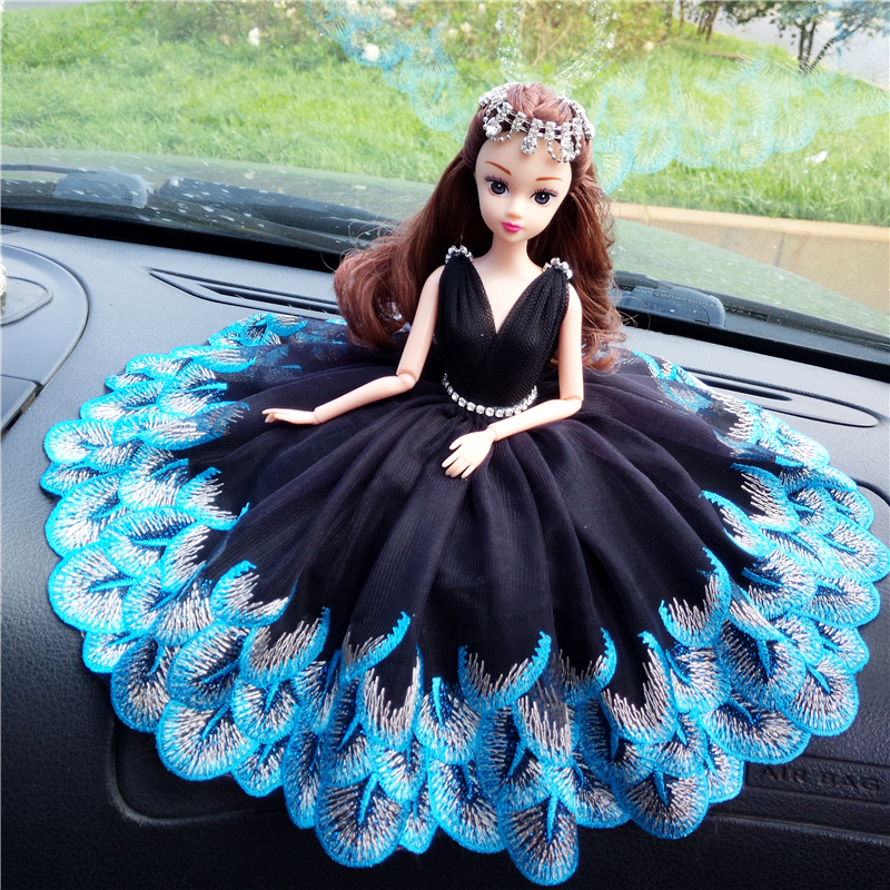 30cm Cute 12 Joint Movable Doll with Wedding Dress Fantacy Birthday Gift Toys for Girls