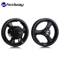 12inch 14inch 24V/36V/48V 250W Driver Wheel And Front Wheel Hub Motor Wheel Electric Bicycle One Motor Wheel Ebike