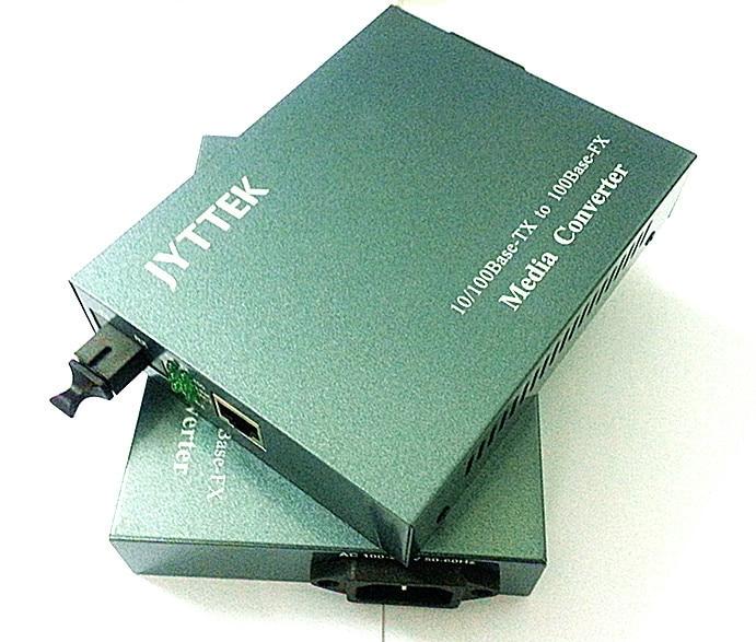 10 / 100M, 듀얼 파이버, 파이버 미디어 컨버터, 내부 - 통신 장비 - 사진 1