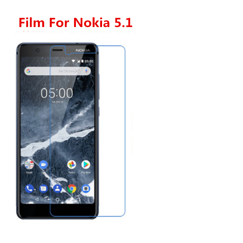 5 Pcs Ultra Thin Clear HD LCD Screen Guard Protector Film With Cleaning Cloth Film For Nokia 5.1.
