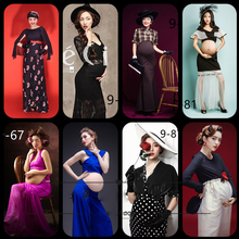 Unique Maternity Dress Women Pregnant Maternity Gown Photography Props Costume Pregnancy Lace photographic works Long Maxi Dress smdppwdbb maternity dress maternity photography props long sleeve maternity gown dress mermaid style baby shower dress plus size