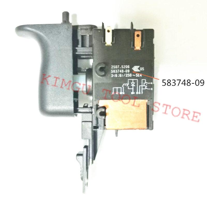 Switch 583748-09 583748-03 For DEWALT D25101K D25102K D25103K D25104K D25112K D25113K D25114K D25122K D25123K DWC24K3 DWEN102K