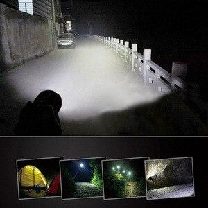 Image 5 - ほとんど明るい LED 懐中電灯 5 モード 28 * T6 強力なトーチフラッシュライトランプ torche と 4*26650 バッテリーと充電器