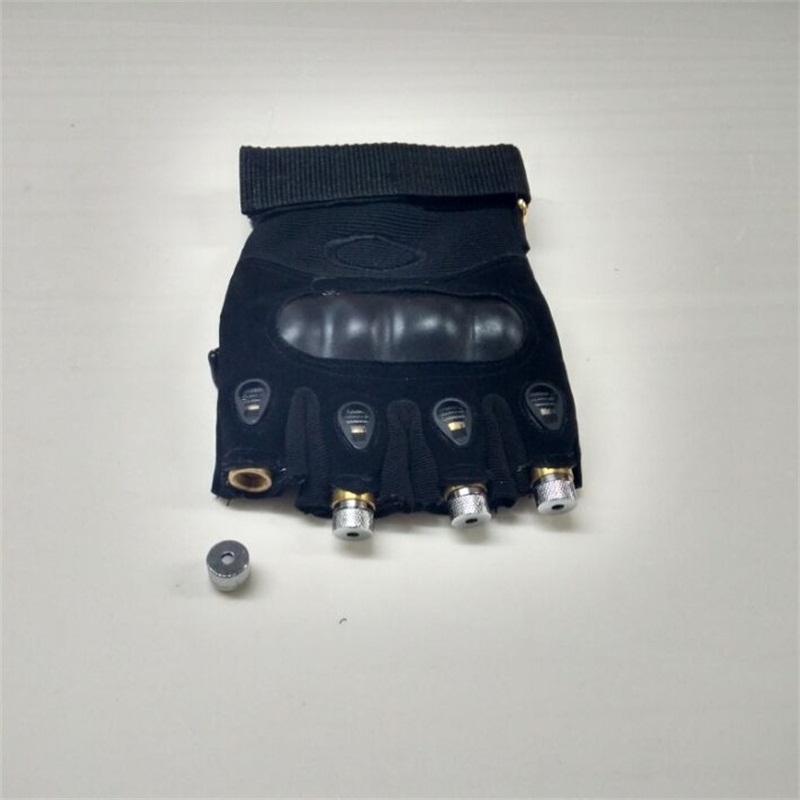 Novi dizajn veleprodajna cijena dj 4pcs zelene laserske rukavice za - Za blagdane i zabave - Foto 3