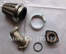 Dirt pit bike parts ATV Engine Intake pipe & Air filter FOR CRF50 CRF70 KLX110 TTR50 TTR110