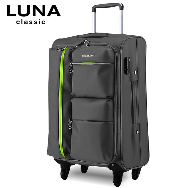014d8d5d070c Universal wheels trolley luggage travel luggage bag soft box luggage ...