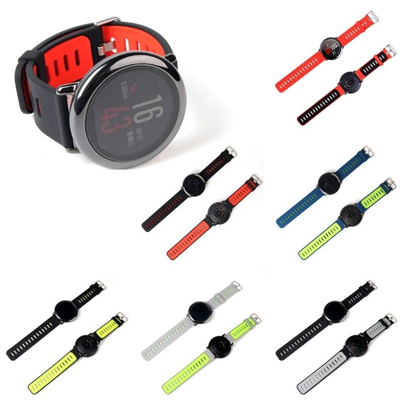 Replacement Silicone Bracelet Strap For Xiaomi Huami AMAZFIT Sport Smart Watch original replacement strap for xiaomi huami amazfit sport smart watch original replacement wristband for xiaomi huami amazfit
