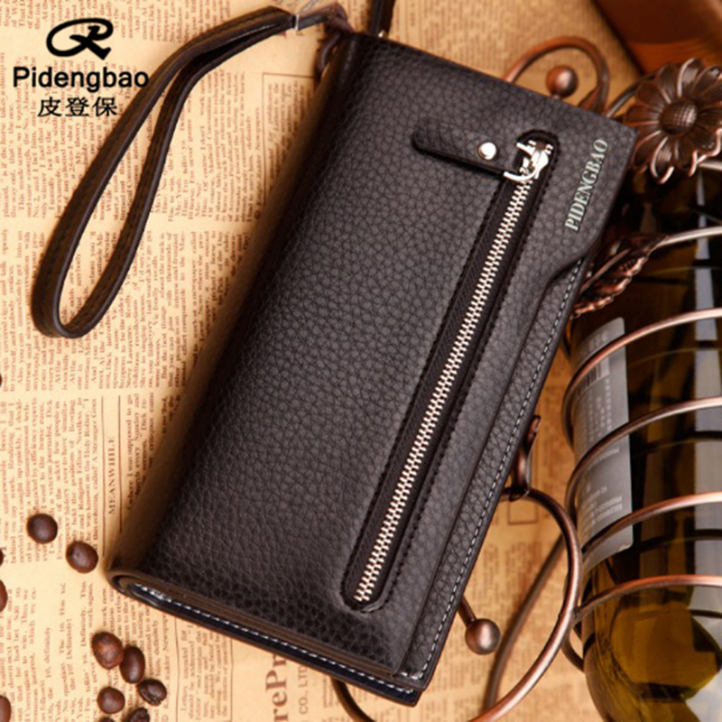 PIDENGBAO mens purses wallet men wallets leather purse carteras carteira masculine walet clutch portefeuille homme monedero