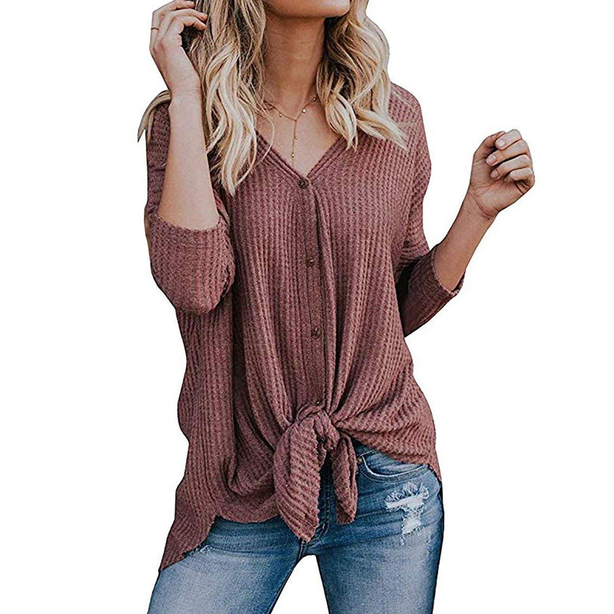 VITIANA Women Loose Casual Shirts Tops Female 2018 Autumn Winter Long Sleeve Solid Black Knitted Pollover Sweater T-shirts